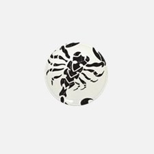 Scorpion Mini Button