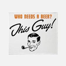 Need a Beer? Throw Blanket