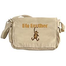 Big Brother Cute Monkey Messenger Bag