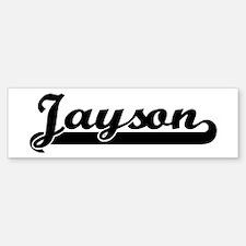 Black jersey: Jayson Bumper Bumper Bumper Sticker