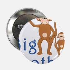 "Big Brother Cute Monkeys 2.25"" Button"