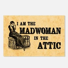 Madwoman In The Attic Postcards (Package of 8)