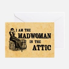 Madwoman In The Attic Greeting Card