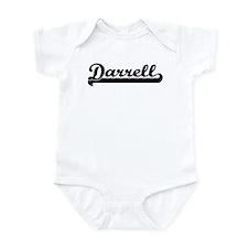 Black jersey: Darrell Infant Bodysuit