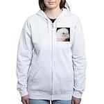 Bare-eyed Cockatoo - Lauren Women's Zip Hoodie