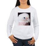 Bare-eyed Cockatoo - Lauren Women's Long Sleeve T-