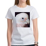 Bare-eyed Cockatoo - Lauren Women's T-Shirt