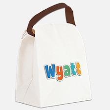 Wyatt Spring11B Canvas Lunch Bag