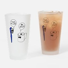 Tooth Toilet Paper Worse Job Drinking Glass
