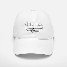 All That Jazz Baseball Baseball Cap
