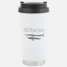 All That Jazz Stainless Steel Travel Mug
