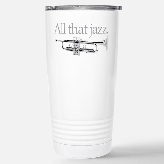 All That Jazz Stainless Steel Travel Mug