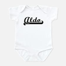 Black jersey: Aldo Infant Bodysuit