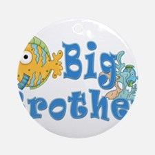 Big Brother Fishes 2 Ornament (Round)