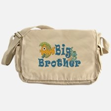 Big Brother Fishes 2 Messenger Bag