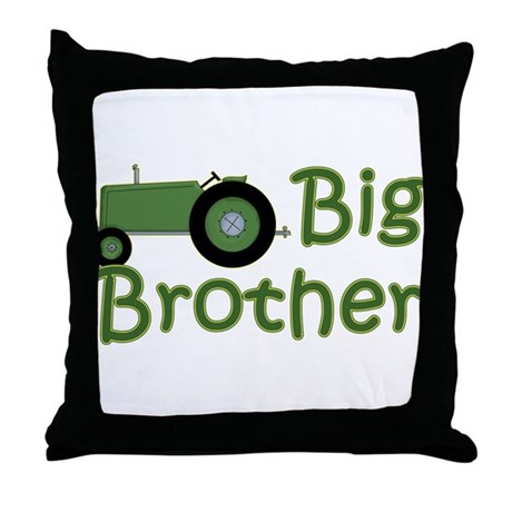 Big Green Throw Pillows : Big Brother Green Tractor Throw Pillow by MyMemaws