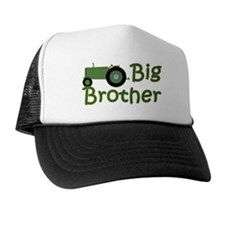 Big Brother Green Tractor Hat