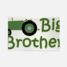 Big Brother Green Tractor Rectangle Magnet
