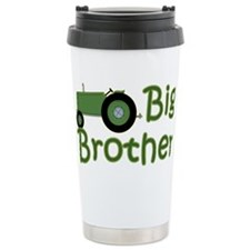 Big Brother Green Tractor Travel Mug