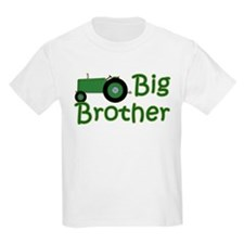 Big Brother Green Tractor T-Shirt