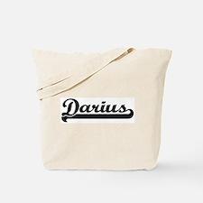 Black jersey: Darius Tote Bag