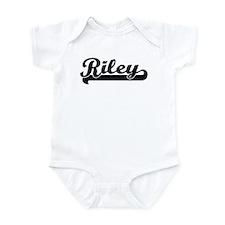 Black jersey: Riley Infant Bodysuit