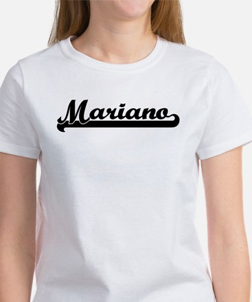 Black jersey: Mariano Women's T-Shirt