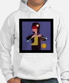 french knitter Hoodie
