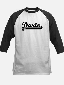 Black jersey: Dario Tee