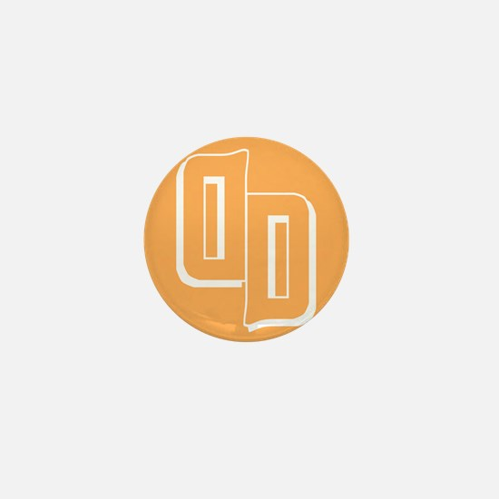 Droid Daughter Logo (Orange) Mini Button