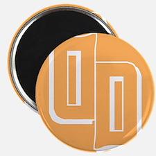 Droid Daughter Logo (Orange) Magnet