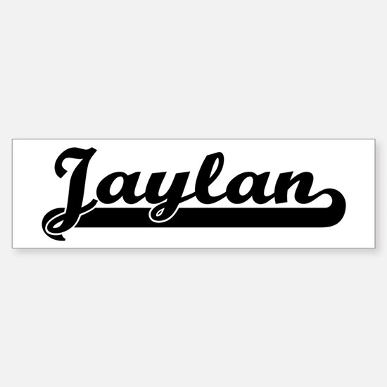 Black jersey: Jaylan Bumper Car Car Sticker