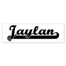 Black jersey: Jaylan Bumper Car Sticker