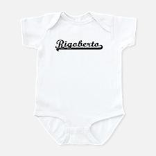 Black jersey: Rigoberto Infant Bodysuit