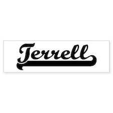 Black jersey: Terrell Bumper Bumper Sticker