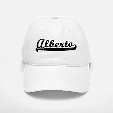 Black jersey: Alberto Baseball Baseball Cap