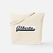 Black jersey: Alberto Tote Bag