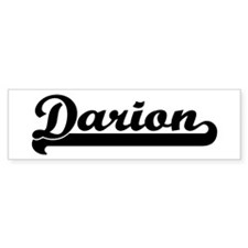 Black jersey: Darion Bumper Bumper Sticker