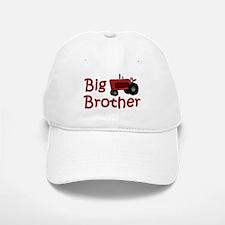 Big Brother Red Tractor Baseball Baseball Cap