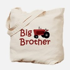 Big Brother Red Tractor Tote Bag