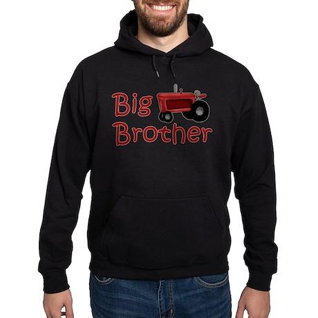 Big Brother Red Tractor Hoodie (dark)