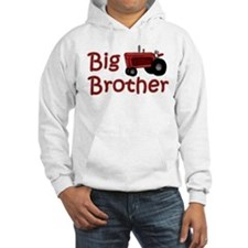 Big Brother Red Tractor Hoodie