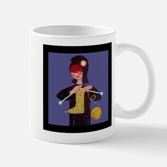 french knitter Mug
