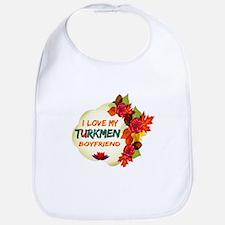 Turkmen Boyfriend designs Bib