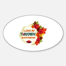Turkmen Boyfriend designs Decal