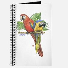Tropical Macaws Parrot Journal