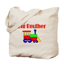 Big Brother Train Engine Tote Bag