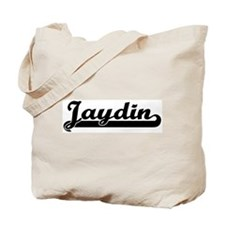 Black jersey: Jaydin Tote Bag