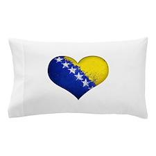 Bosnian heart Pillow Case