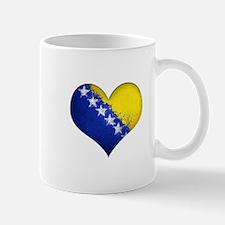 Bosnian heart Mug